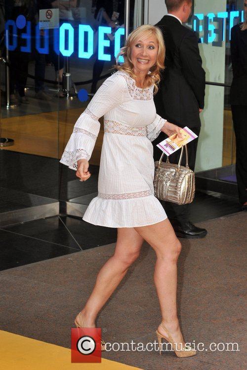 Tania Bryer Hannah Montana UK premiere held at...