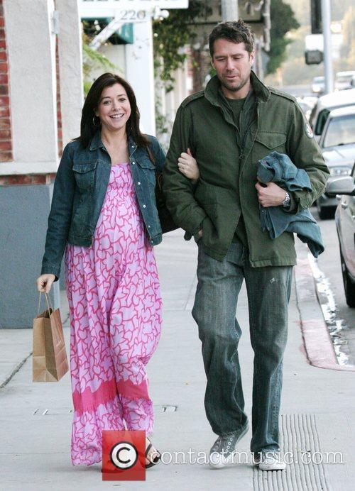 Pregnant Alyson Hannigan, Alyson Hannigan and The Streets