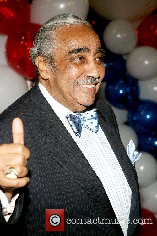Congressman Charles B. Rangel election night party held...