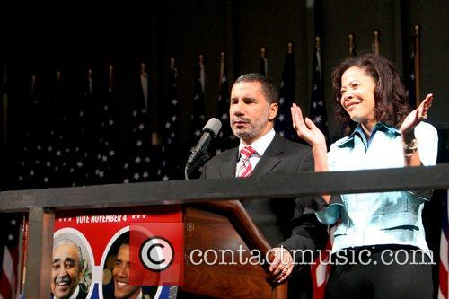 Governor David Patterson and Michelle Paige Paterson election...