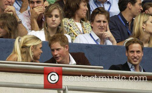 Prince Harry, Prince William, Wembley Stadium