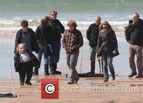 Rupert Grint, Emma Watson, Harry Potter, Daniel Radcliffe and Ron Weasley 2