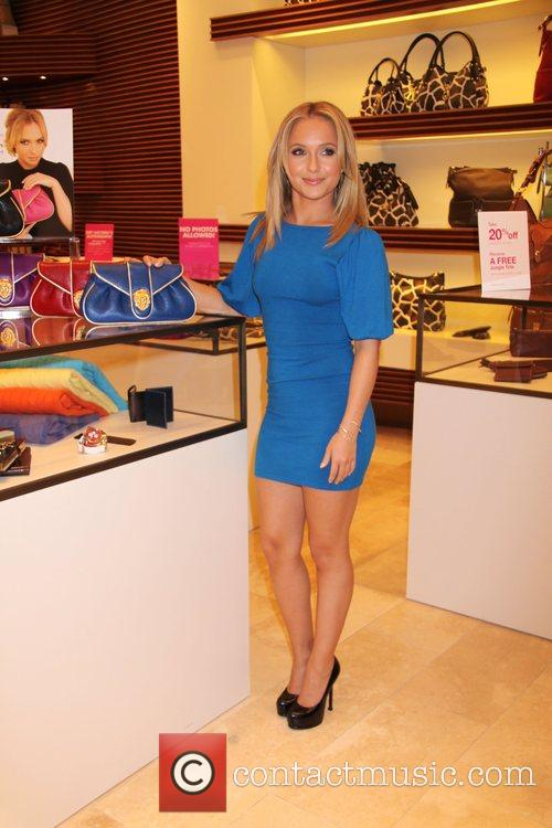 Hayden Panetierre unveils her fashion clutch bag by...