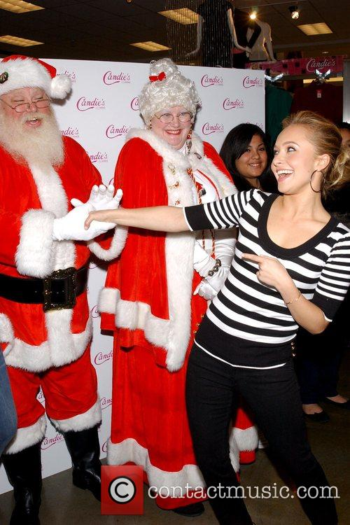 Candie's spokesperson Hayden Panettiere appearing at Kohl's Acradia...