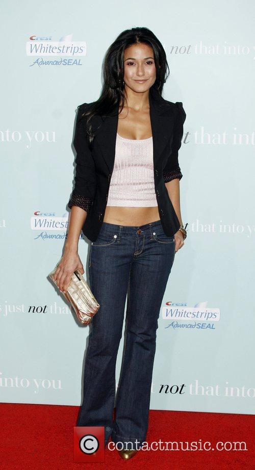 Emmanuelle Chriqui attends the Los Angeles Premiere of...