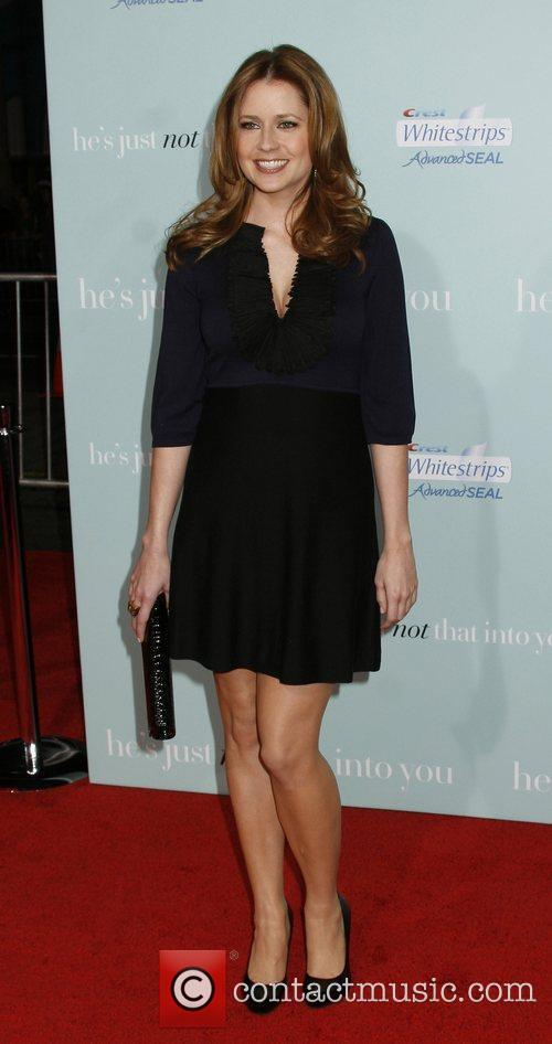 Jenna Fischer attends the Los Angeles Premiere of...