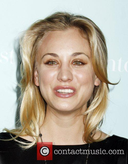 Kaley Cuoco attends the Los Angeles Premiere of...