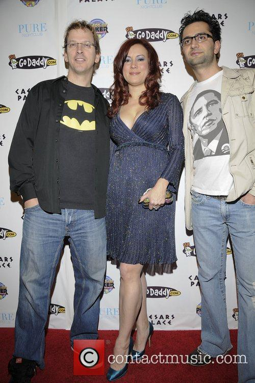 Phil Laak, Jennifer Tilly and Pure Nightclub 4
