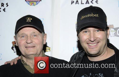 Phil Hellmuth and his father The 5th Annual...