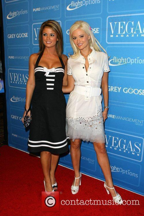 Laura Croft and Holly Madison Vegas Magazine celebrates...
