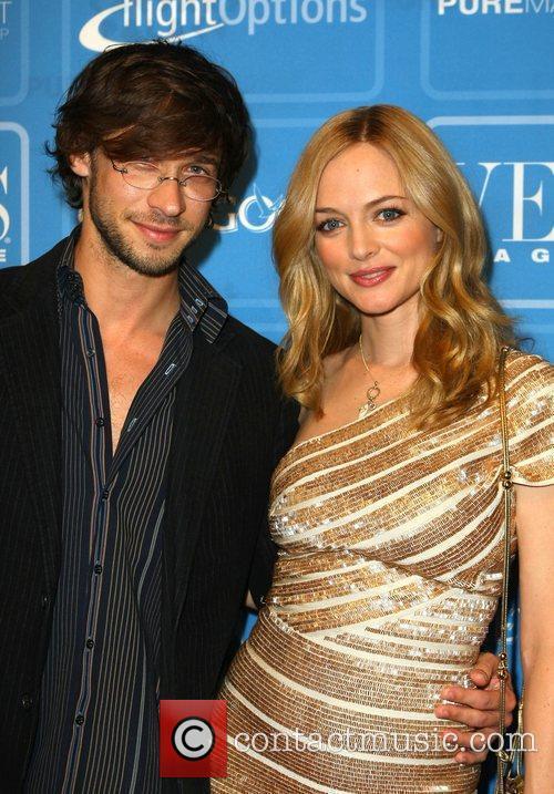 Yaniv Raz and Heather Graham Vegas Magazine celebrates...