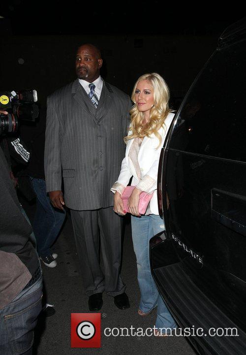 Heidi Montag and Spencer Pratt Leaving Area nightclub...