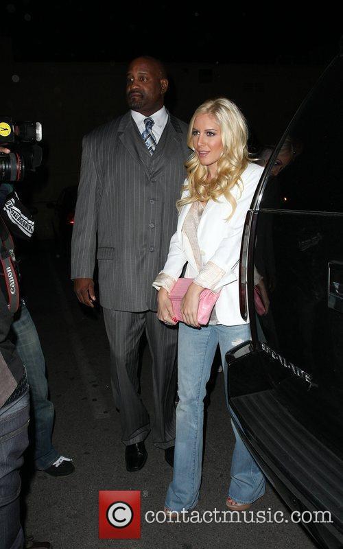 Heidi Montag Leaving Area nightclub Los Angeles, California