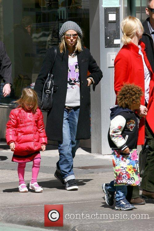 Seal and Heidi Klum out and about with...