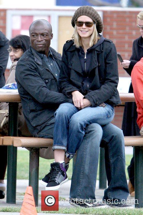 Seal and Heidi Klum 7