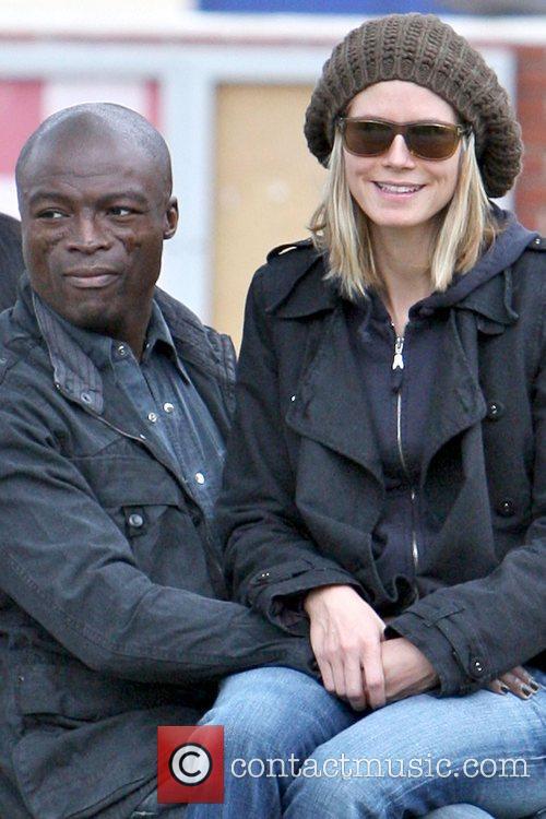 Seal and Heidi Klum 10