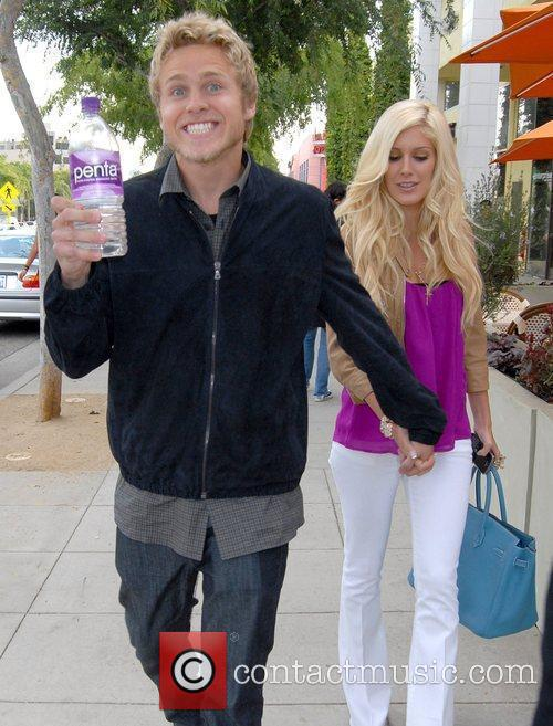 Heidi Montag and Spencer Pratt arrive at Prima...