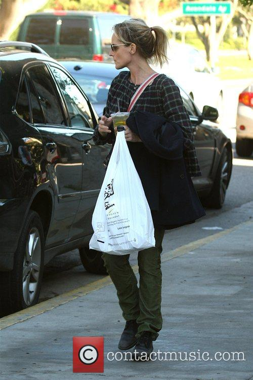 Seen leaving her yoga class in Brentwood.