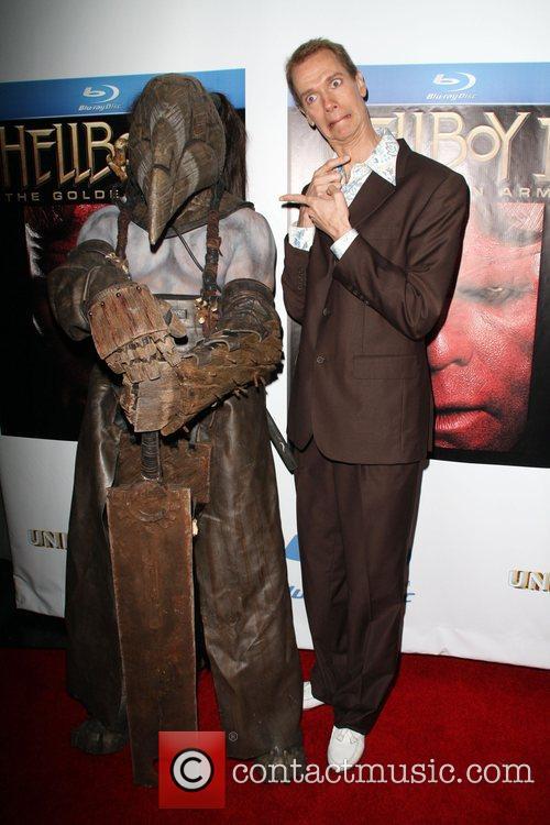 Doug Jones and Butcher Guard character 'Hellboy II:...