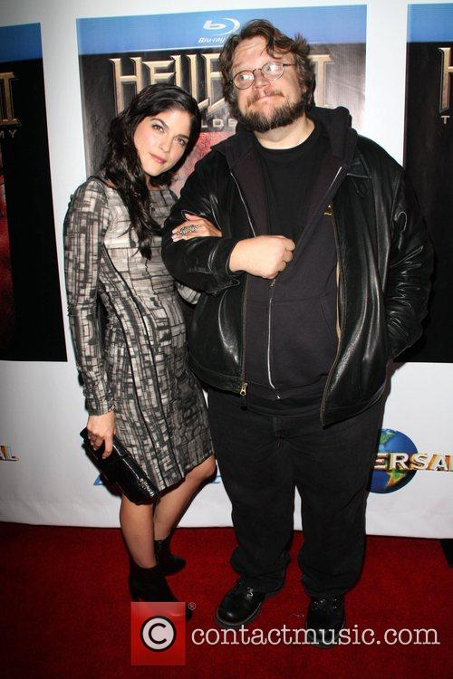 Selma Blair and Guillermo Del Toro 11