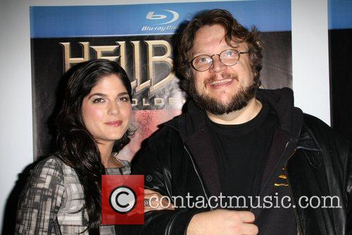 Selma Blair and Guillermo Del Toro 3