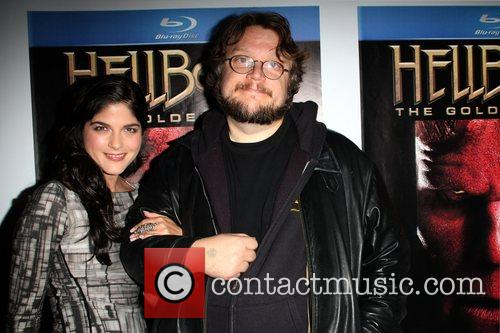 Selma Blair and Guillermo Del Toro 6