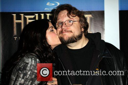 Selma Blair and Guillermo Del Toro 9