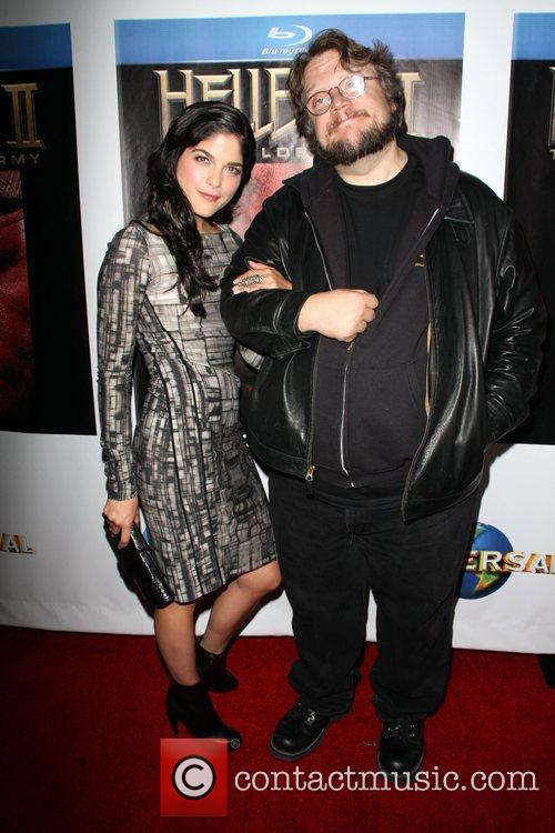 Selma Blair and Guillermo Del Toro 5