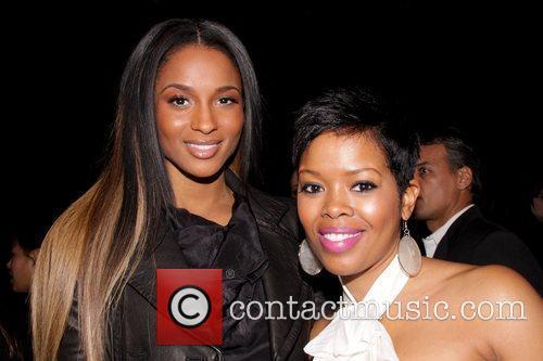 Ciara and Malinda Williams MAC Cosmetics And V...