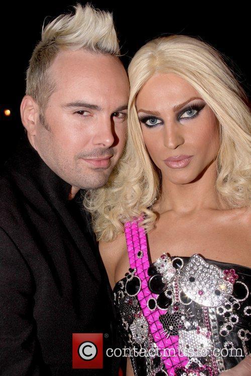David Blond and Phillipe Blond  MAC Cosmetics...