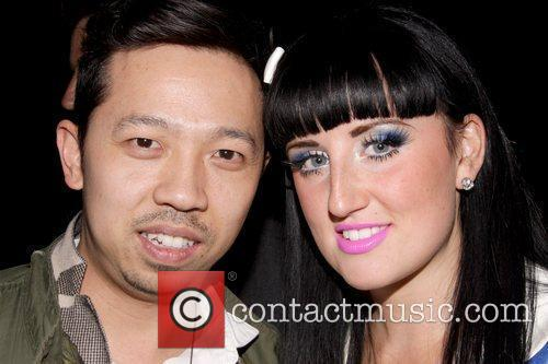 Guest and Aimee Phillips MAC Cosmetics And V...