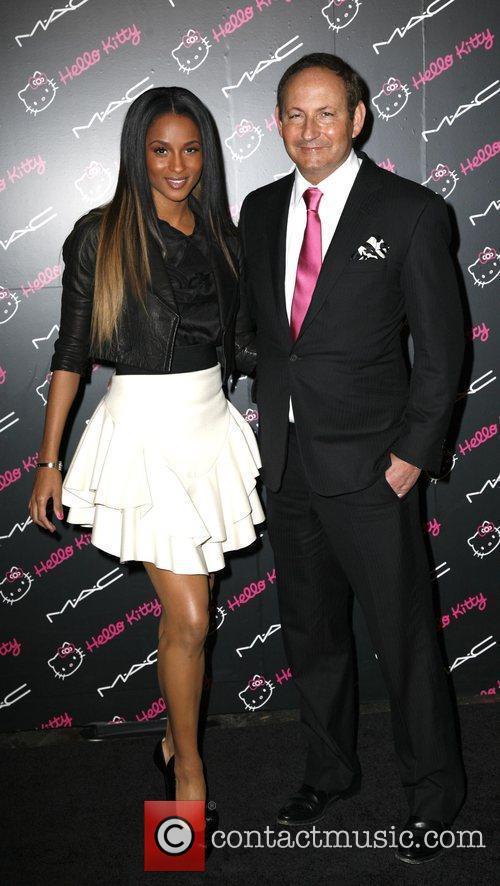 Ciara, John Demsey MAC Cosmetics And V Magazine...