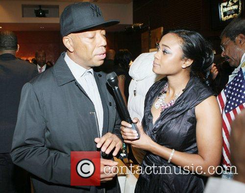 Russell Simmons and Tatyana Ali 2