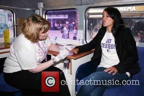 Lisa Moorish Has Blood Taken Onboard 3