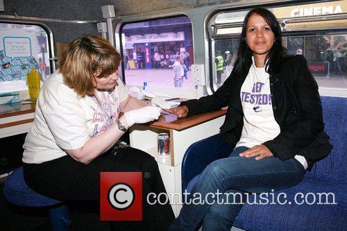 Lisa Moorish Has Blood Taken Onboard 2