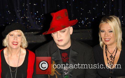 Hazel O'Connor, Boy George and Kim Wilde Here...