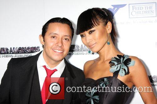 Efren Ramirez and Bai Ling 2