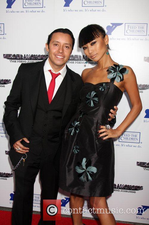 Efren Ramirez and Bai Ling 1