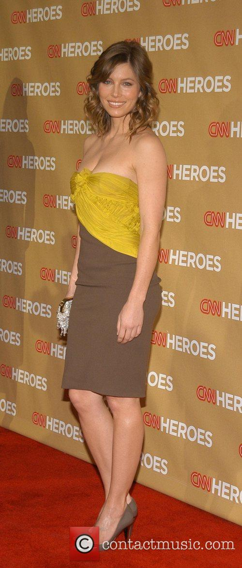 Jessica Biel CNN Heroes: An All-Star Tribute held...