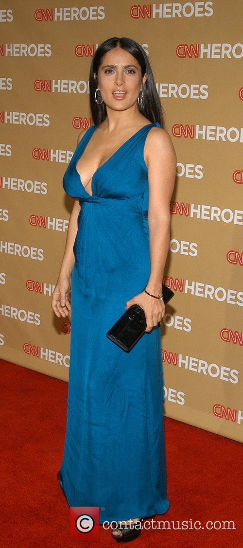 Salma Hayek CNN Heroes: An All-Star Tribute held...