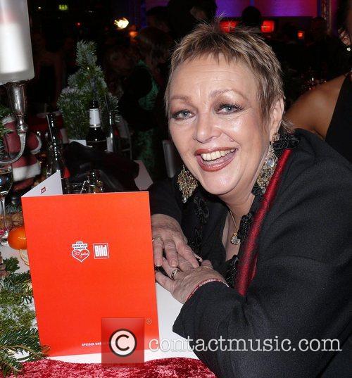 Barbara Schšne Herz fuer Kinder charity gala at...