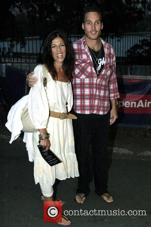 Callan Mulvey and Lizzi Morrissey The Australian premiere...