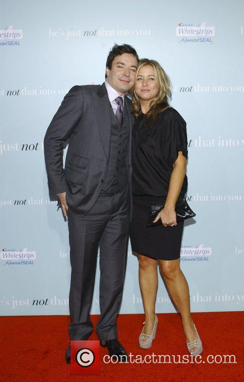 Jimmy Fallon and Nancy Juvonen attends the Los...
