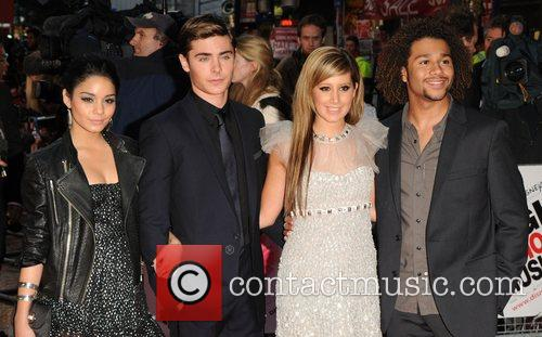 Vanessa Hudgens, Ashley Tisdale and Zac Efron 4