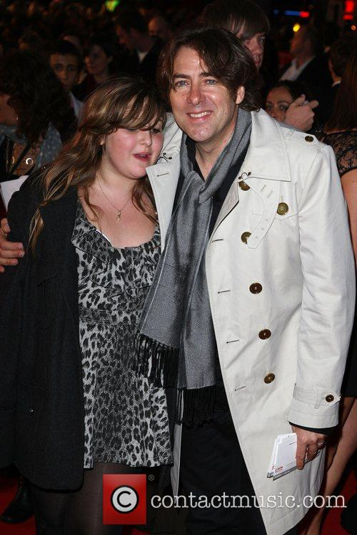 Jonathan Ross With His Daughter 1