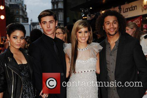 Vanessa Hudgens, Ashley Tisdale, ZAC EFRON, Empire Leicester Square