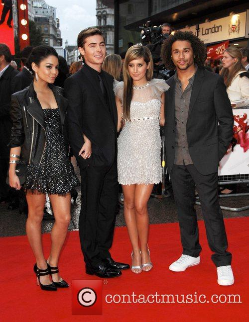 Vanessa Hudgens, Ashley Tisdale and ZAC EFRON 10
