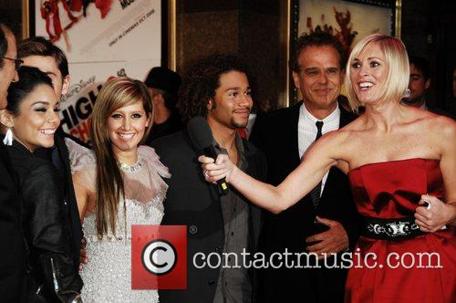 Vanessa Hudgens, Ashley Tisdale, Corbin Bleu, Empire Leicester Square