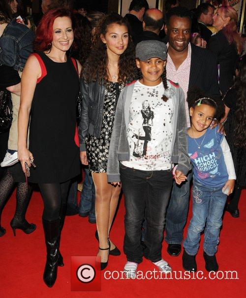 The UK premiere of 'High School Musical 3'...