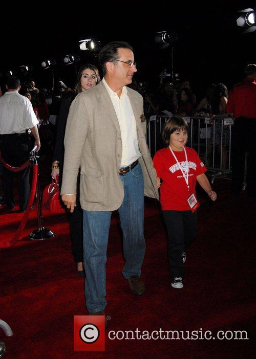 Andy Garcia and his son The Los Angeles...